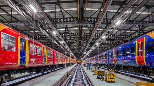 Network Rail Maintenance Depot